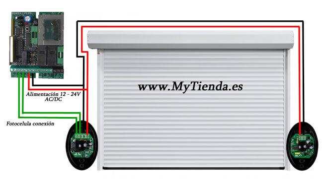Fotocelula garaje infrarroja