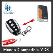 Mando garaje Compatible VDS