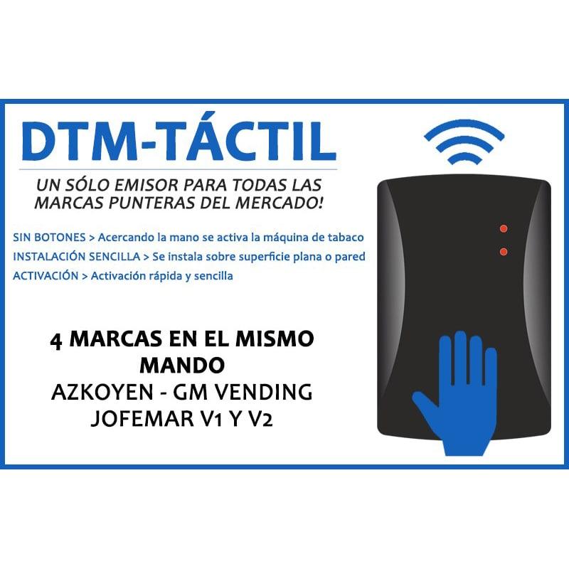MAQUINAS DE TABACO GM VENDING MANDO EVOLUTIVO COMPATIBLE